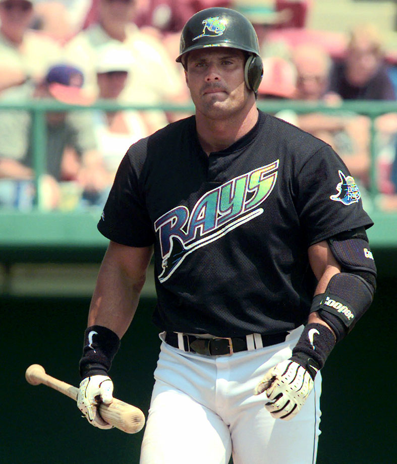 Canseco isn't the worst memory of the Rays' early days. It was their uniforms.