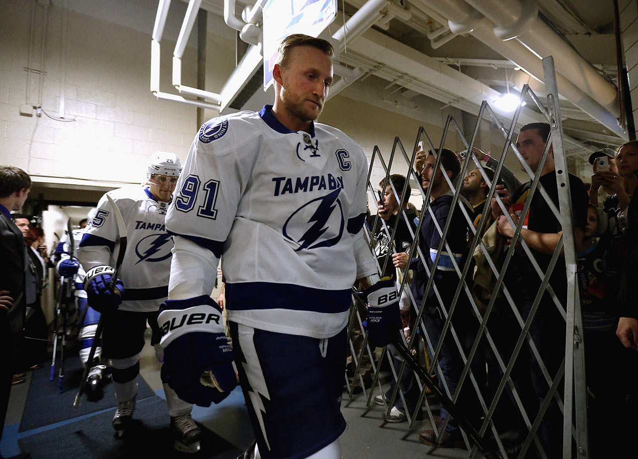 The Steven Stamkos contract will be the stick that gets jammed in the spokes of their season. Forget trying to play it down. Every time the Bolts cross the border the drama will kick into high gear and the assumption will grow that he's wanted to test free agency all along. Imagine what this team could look like if he gets traded before the deadline...