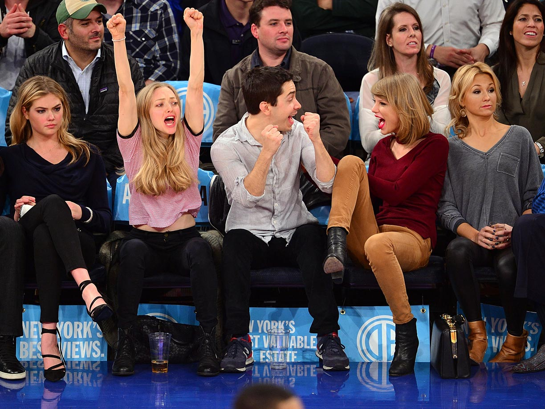 with Justin Long, Amanda Seyfried and Kate Upton