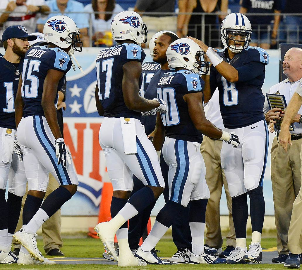 Will Marcus Mariota be this year's version of Bishop Sankey: Someone everyone loves -- until Week 2? From Sankey to Justin Hunter, this offense is full of disappointments, and the defense might be even worse. The offense and defense ranked among the worst three teams in points scored and points allowed last year.