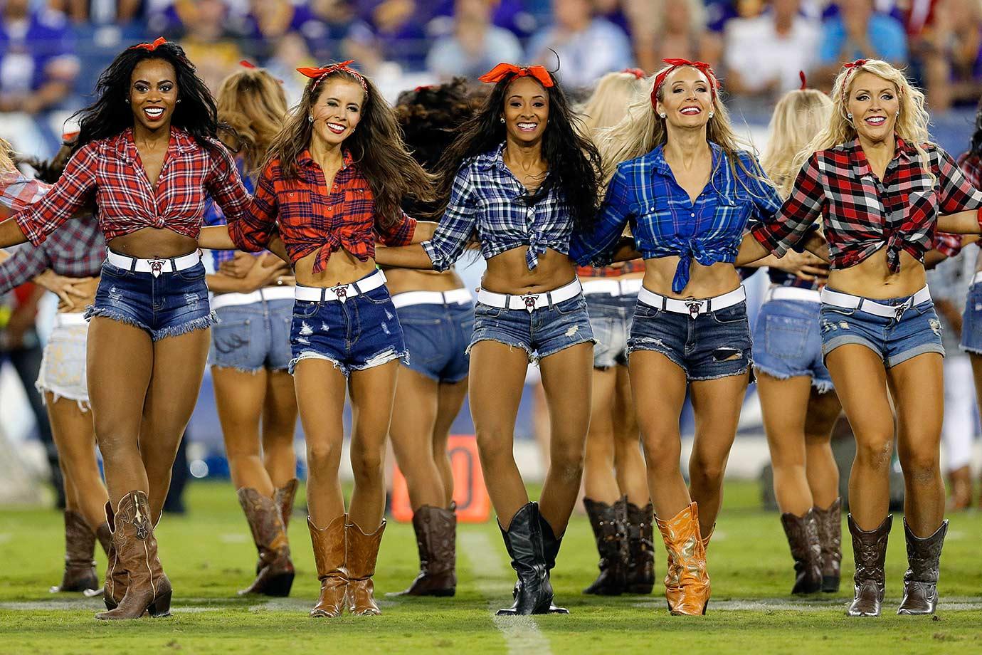 Nfl Cheerleaders Preseason Week 4 Si Com
