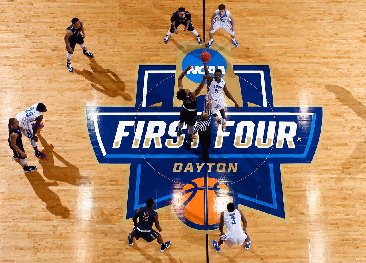 Here are some of the images that caught our eye on Tuesday, March 15, starting with the tipoff in the First Four game between Fairleigh Dickinson and Florida Gulf Coast in the 2016 NCAA Tournament.