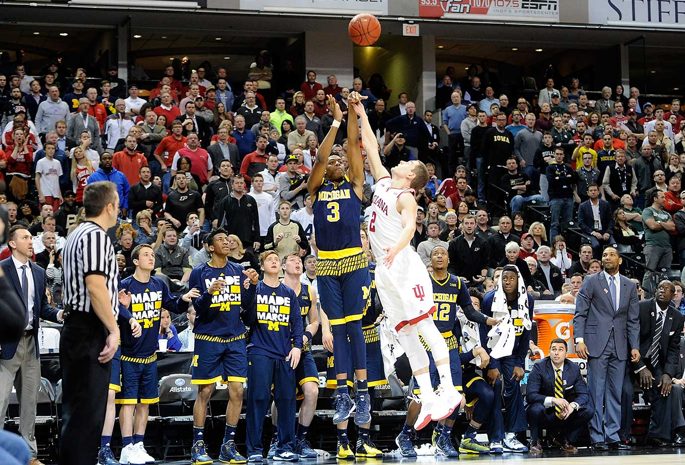 Kameron Chatman may have shot Michigan into the NCAA tournament with his game-winning three against Indiana.