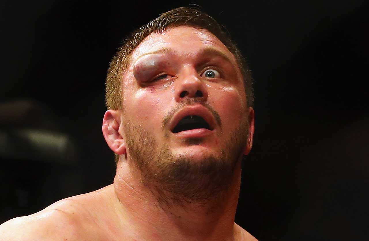 Matt Mitrione got more than he planned for in his heavyweight bout against Travis Browne during UFC Fight Night 81 at TD Banknorth Garden in Boston.