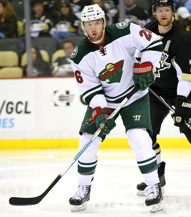 "Like Matt Moulson, for whom he was traded to the Islanders last season, Vanek has been a bit of a nomad during the past year, moving from Buffalo to New York to Montreal before finally returning ""home"" to the Wild as a free agent. The former NCAA Frozen Four MVP with the Minnesota Gophers is expected to give the Wild a serious scoring threat and playmaker. If Minnesota takes the next big step in the playoffs next spring, Vanek is likely to be a major reason."