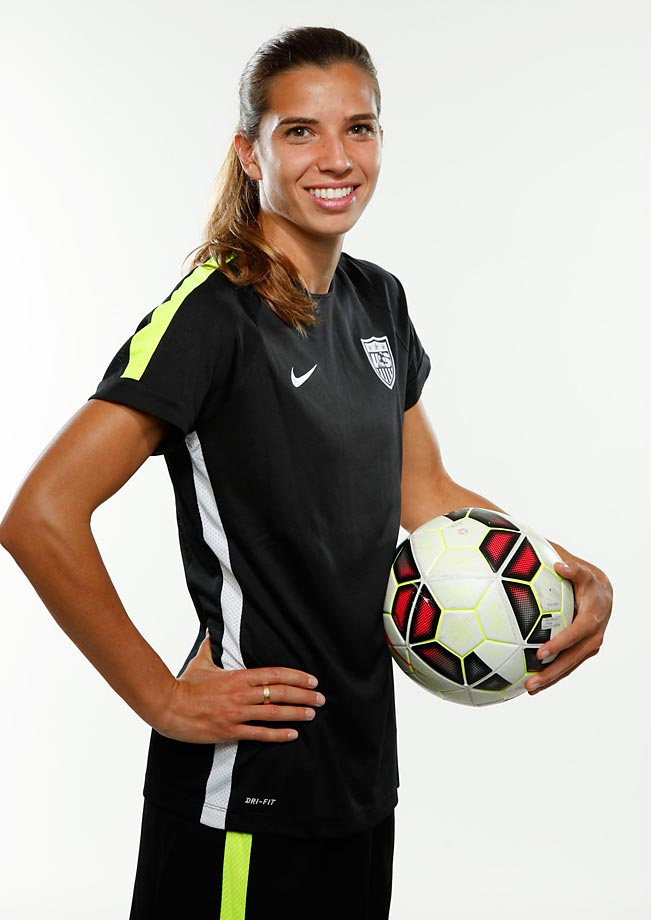 U S  Women's World Cup team: Midfielder Tobin Heath | SI com