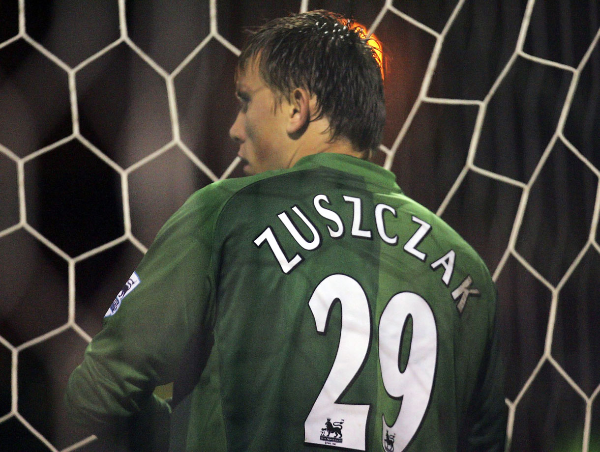 "As if the Manchester United goalkeeper didn't have enough ""Z""s already, Tomasz Kuszczak had a third ""Z"" added to his last name for a Carling Cup match against Crewe Alexandra on Oct. 25, 2006."