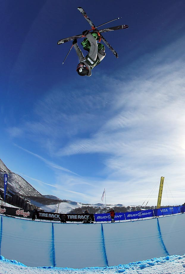 Though he just turned 18 in December, Yater-Wallace has been skiing like a veteran for the last couple of years. He earned a silver medal in his X-Games debut in 2011 and hasn't looked back. He'll be competing in the new halfpipe skiing event in Sochi. Torin Yater-Wallace's Facebook page.