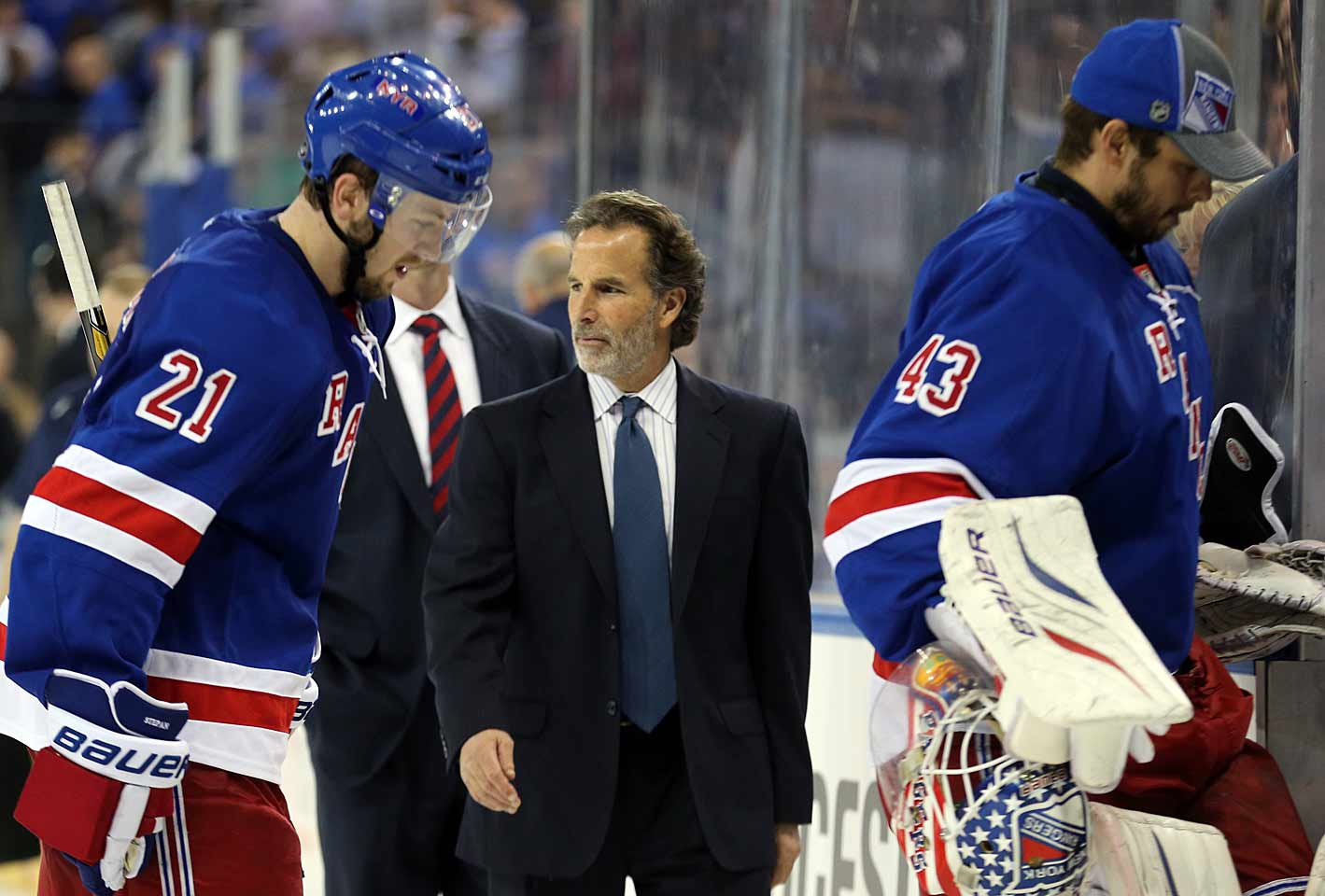 """We sucked from head to toe and we need to move by it.""— after his Rangers lost 2-0 to the Oilers on Oct. 22, 2011. Also: ""We sucked, and we sucked at a time that you can't suck.""—after a 3-1 loss to the Sabres on March 12, 2013"