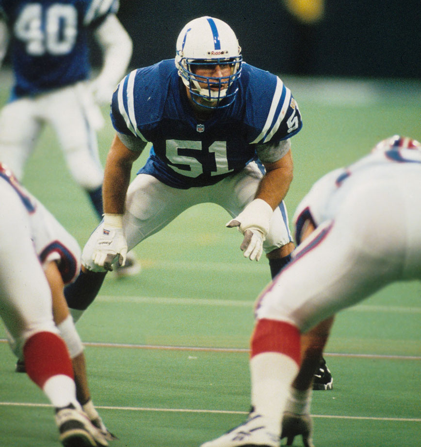 Alberts' career got off to a rocky start when ESPN analyst Mel Kiper ripped Indy for picking him, drawing the public ire of Colts GM Bill Tobin. In three injury-plagued seasons, Alberts couldn't prove Kiper wrong.