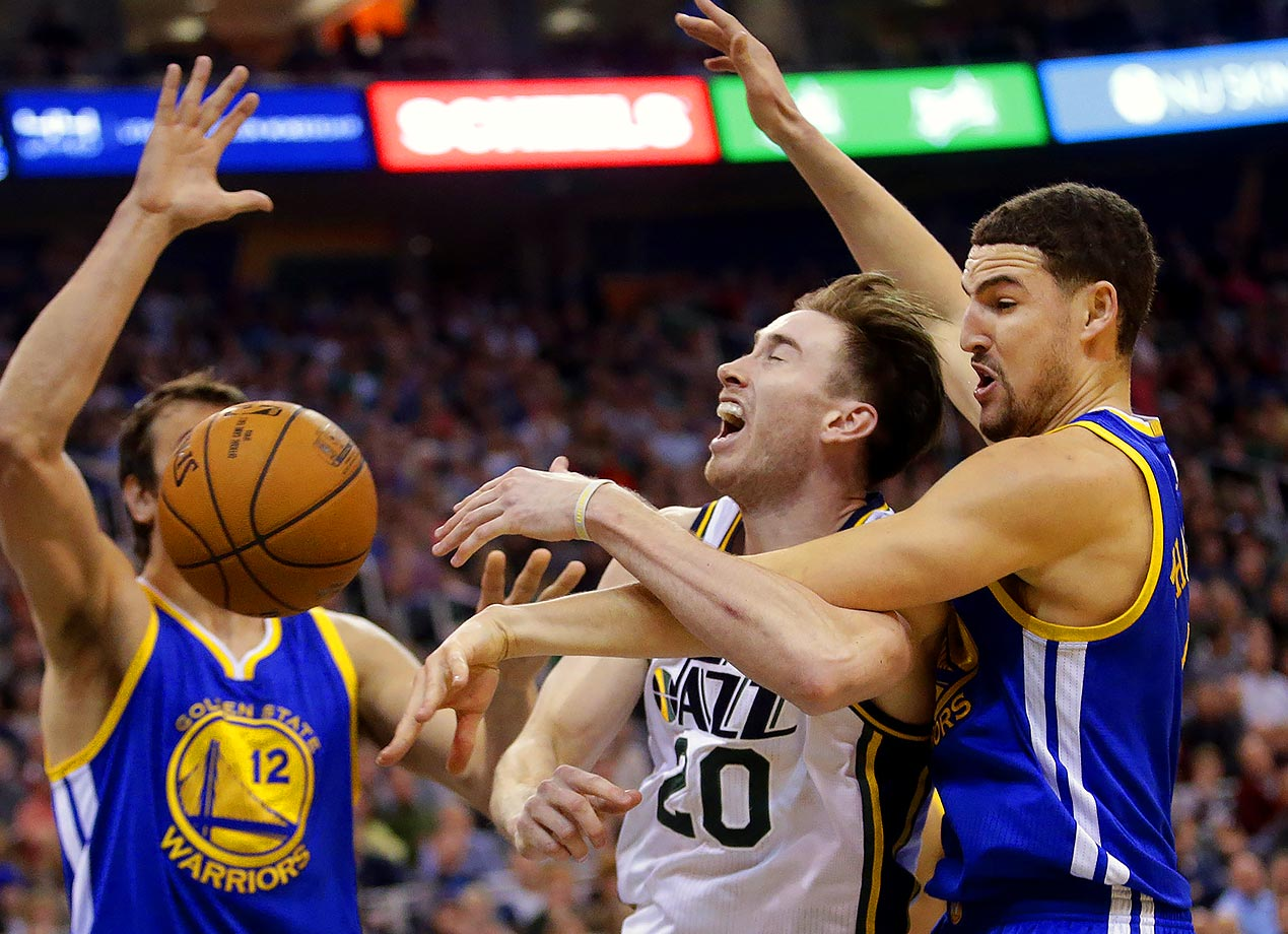 If Gordon Hayward couldn't lead Butler past Duke, he can't lead the Jazz past the Warriors.