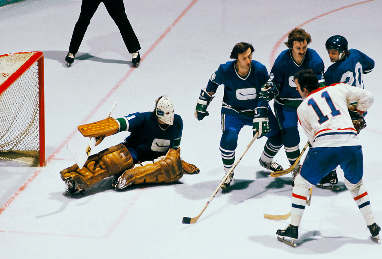 After Vancouver nearly landed the struggling Oakland Seals, the Canucks became the city's first major pro hockey team since the Millionaires of the PCHL folded in 1926. The franchise—which remains stable and is ranked by Forbes as the NHL's fourth most-valuable ($700 million)— has survived stretches of losing seasons and a threat from the WHA's Vancouver Blazers, while making three Stanley Cup Final appearances and occasionally breaking the hearts of its devoted and often demanding fans.                                                                  All-time regular season record: 1,415-1,504-391-100; Postseason appearances: 26; Stanley Cups: 0