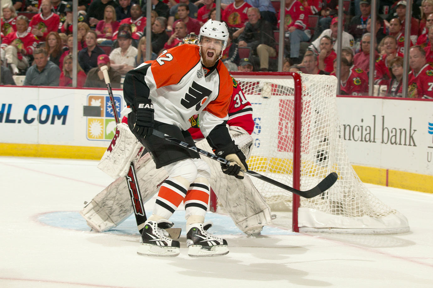 Though Leino skated in seven postseason games with the Red Wings in 2009, he was still considered a rookie the following year when he lit up the field as a member of the Flyers. The  26-year-old winger broke Don Maloney's record for playoff assists by a rookie with 14 and tied the rookie mark with 21 total points, a feat that was made even more amazing by the fact that he watched all but one game of Philly's first round series against New Jersey from the press box as a healthy scratch.