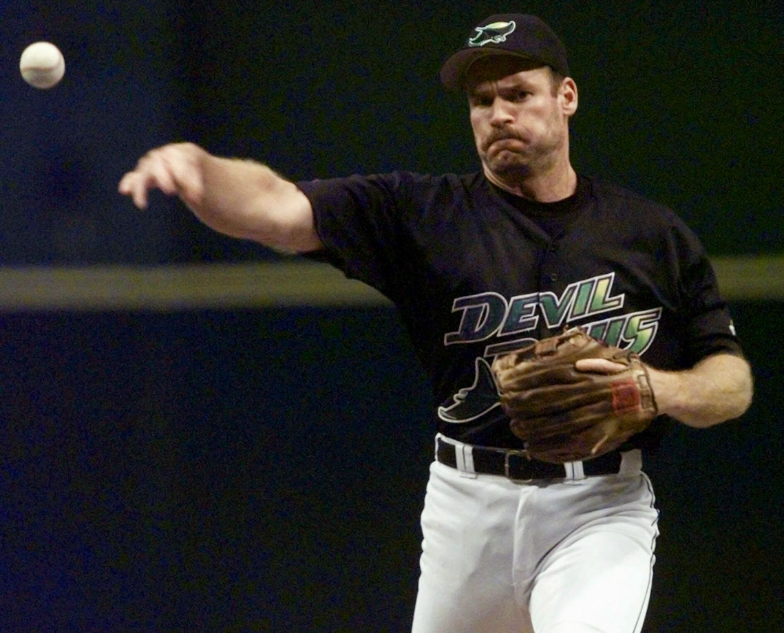 In his 18th and final season, Boggs pitched the final inning and a third for the Devil Rays in a 17-1 loss to the Orioles. Boggs managed not to walk a single batter, but did allow one run on three hits.