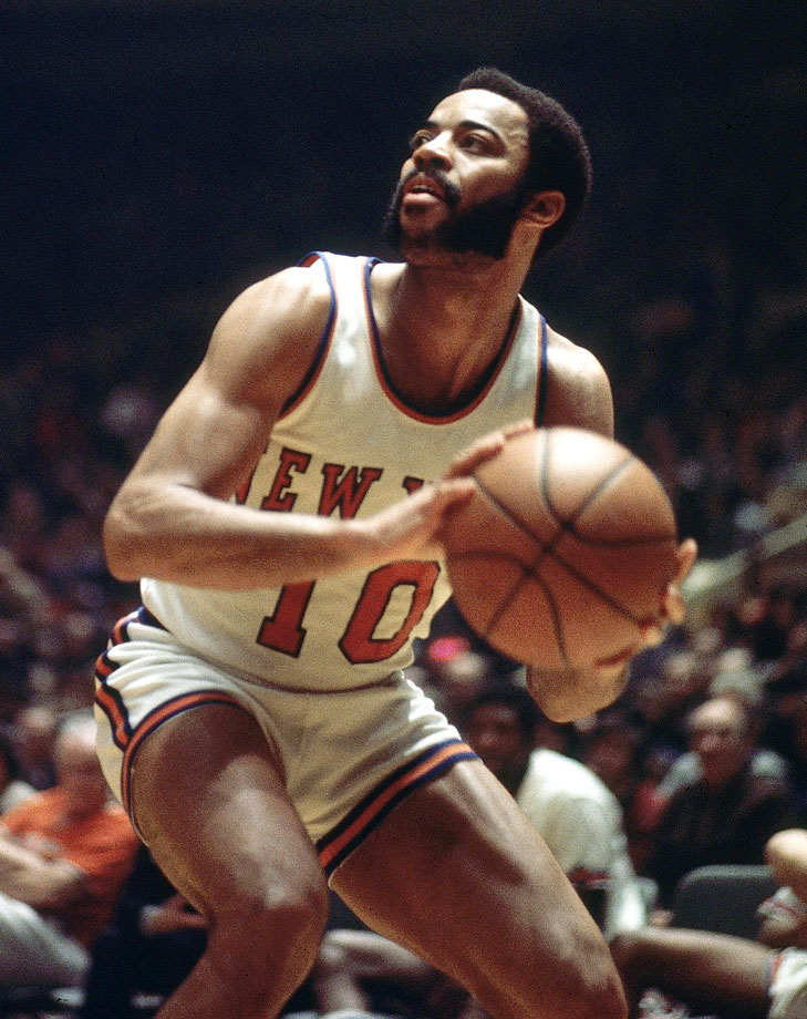 When it comes to sideburns, few have ever rivaled the Knicks' legendary Clyde. They weren't just mutton chops, they were the whole mutton.
