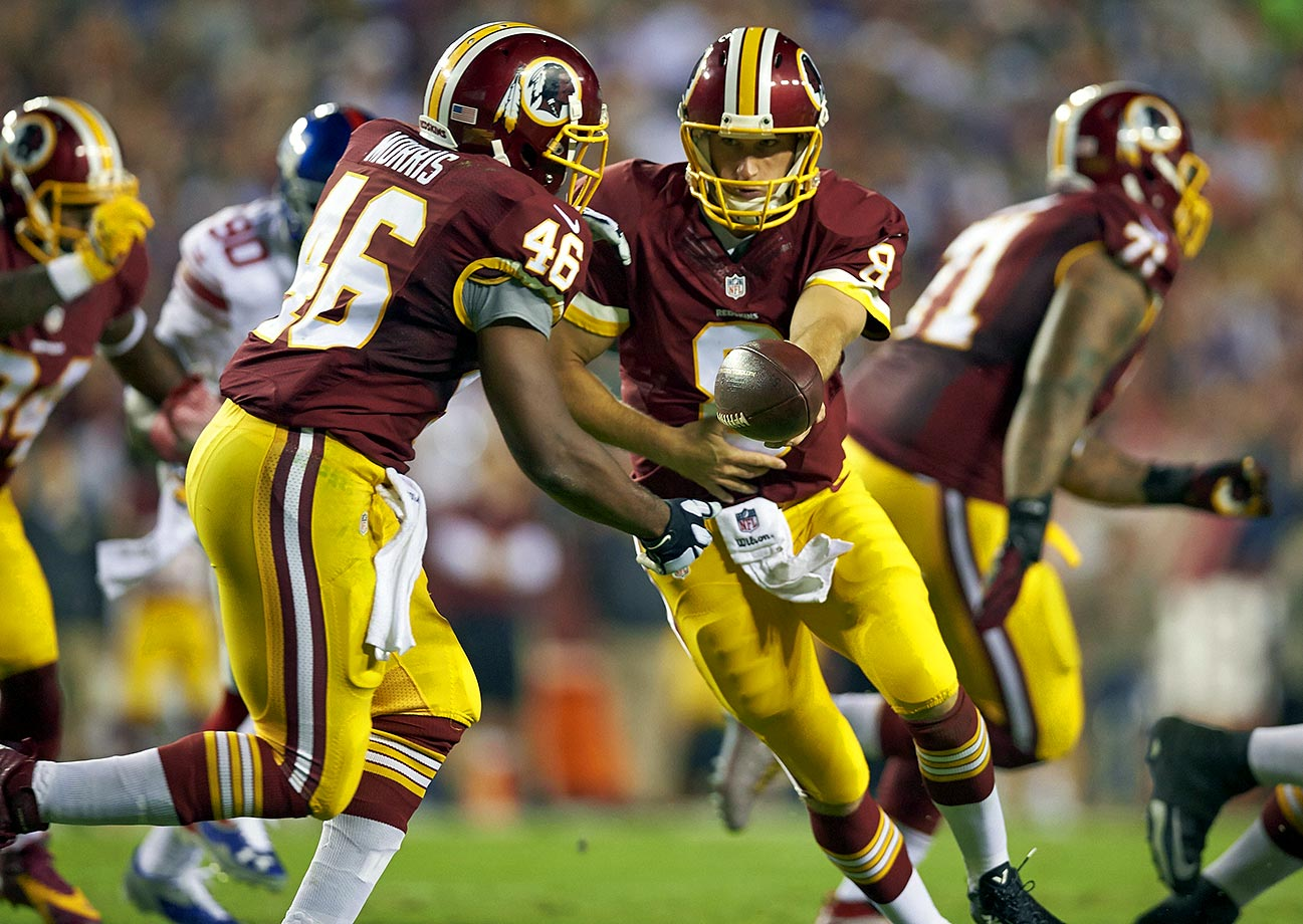"The RGIII experiment has officially ended – until Kirk Cousins gets hurt. But for now, Cousins takes over under center, Alfred Morris continues to defy logic, and the Redskins defense hopes to not be one of the most-penalized units for the second year in a row. Rather than wondering why Washington won't win the Super Bowl this season, Redskins fans should start worrying about hearing the phrase, ""The Redskins are on the clock"" come January."