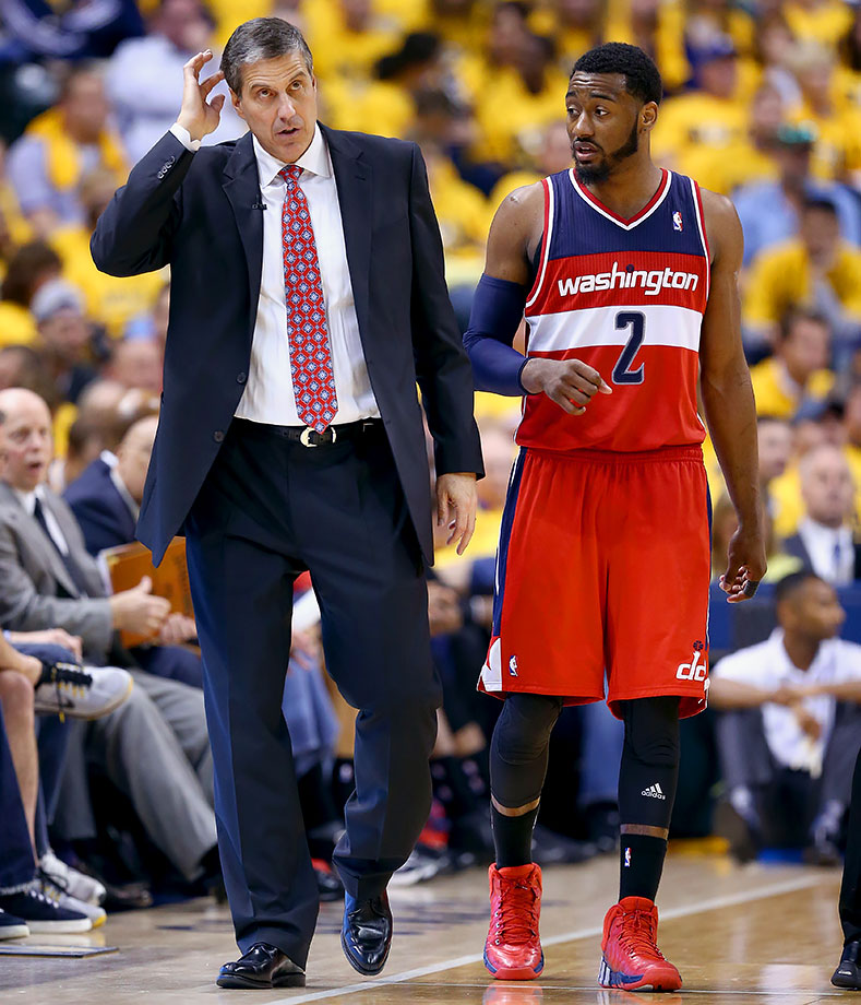 Drew Gooden is their most reliable playoff shooter now that Paul Pierce is gone. John Wall is an elite player and person, but Randy Wittman is still his coach.