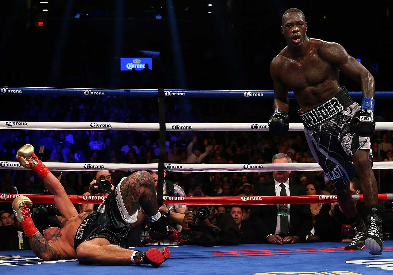 Wilder improved his record to 36-0 with his 35th KO.