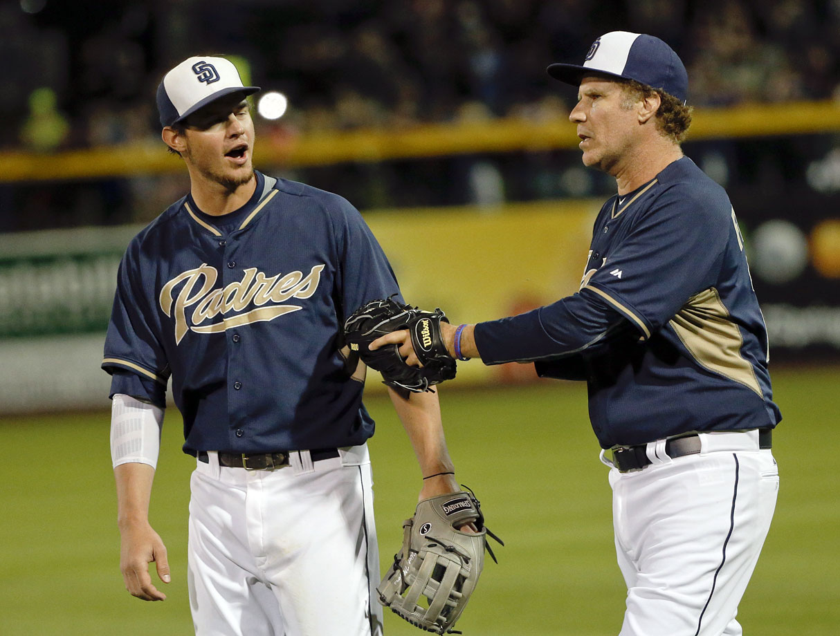 with center fielder Wil Myers