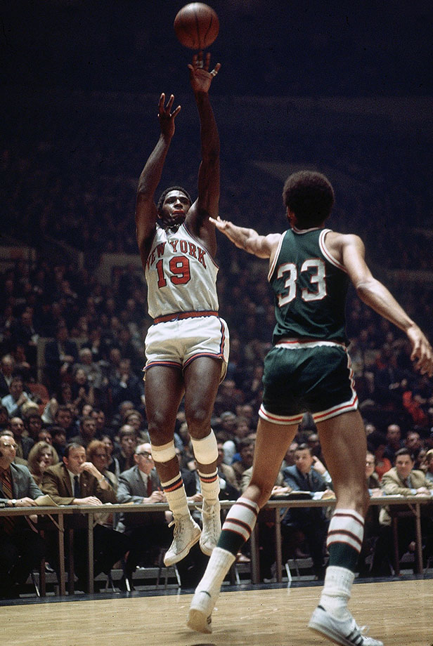 While he's best remembered for his limping onto the court in Game 7 of the 1970 Finals, Reed won Rookie of the Year, MVP and was a seven-time All-Star.