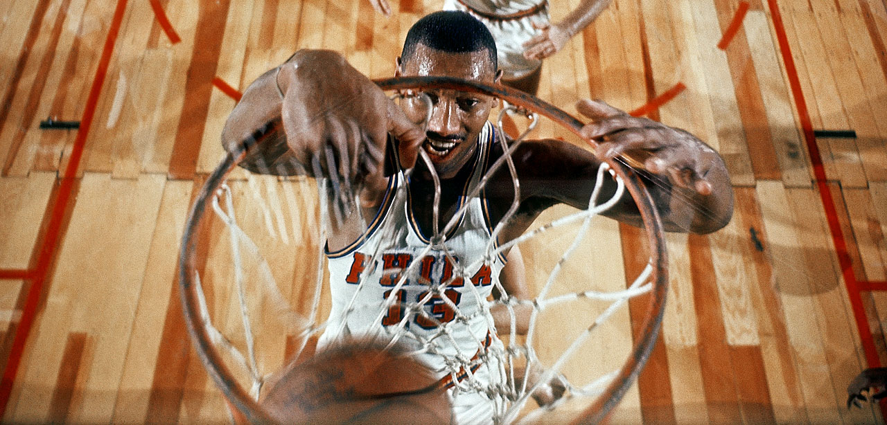 The 7-footer averaged 30.1 points and 22.9 rebounds during his NBA career, and his 100-point game against the Knicks on March 2, 1962 might stand the test of time. Chamberlain won four regular-season MVPs and was selected to 13 All-Star Games.