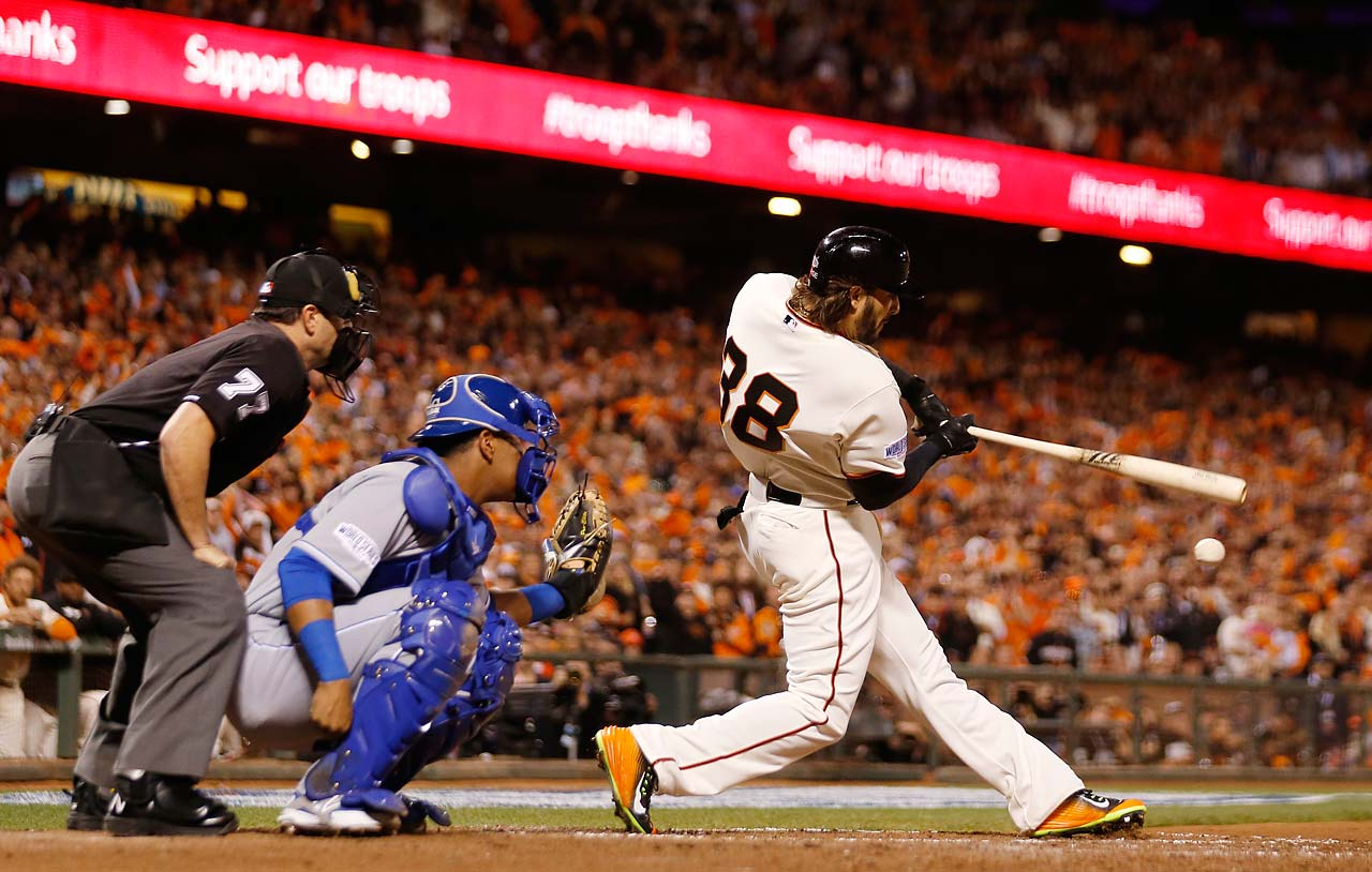 Michael Morse had an RBI double in the sixth inning to drive Jeremy Guthrie out of the game.