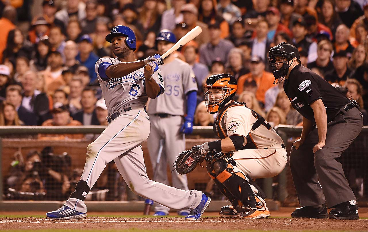 Lorenzo Cain drove in Alcides Escobar in the first inning to give Kansas City a 1-0 lead but didn't do anything else of substance at the plate the rest of the night.