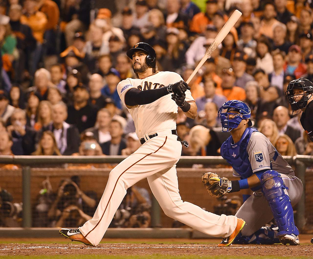 Pinch-hitting in the sixth inning, Michael Morse smashed a ball long enough to be a homer but it went foul.