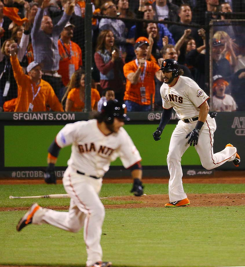 After falling behind 3-0, the Giants had a mini-rally in the sixth, scoring twice.