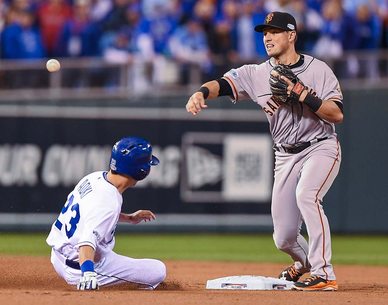 Joe Panik made his major league debut in May and five months later is a World Series champion.