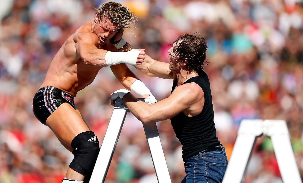 Dean Ambrose and Dolph Ziggler