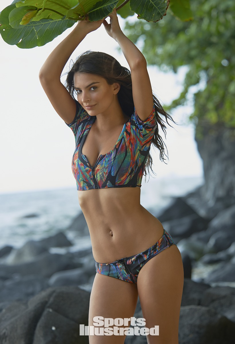 Emily Ratajkowski was photographed by Yu Tsai in Kauai.