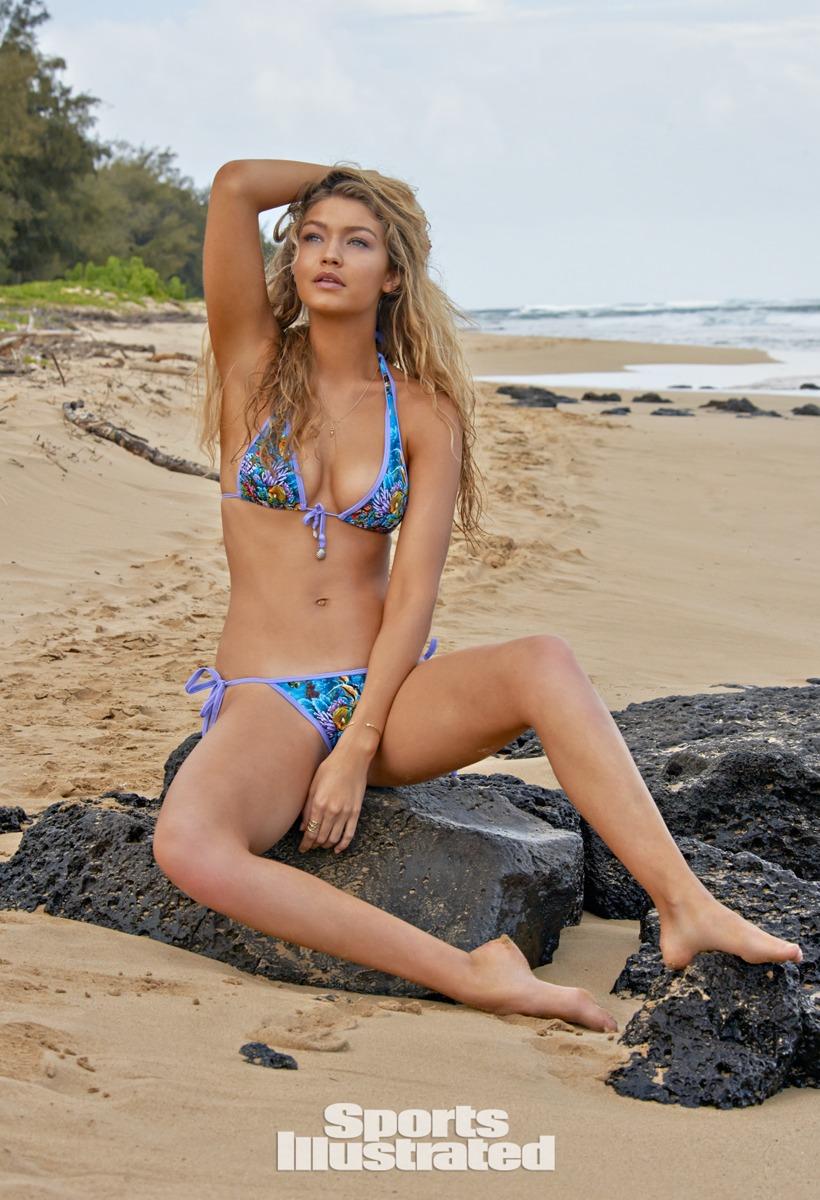 Gigi Hadid, SI Swimsuit 2015