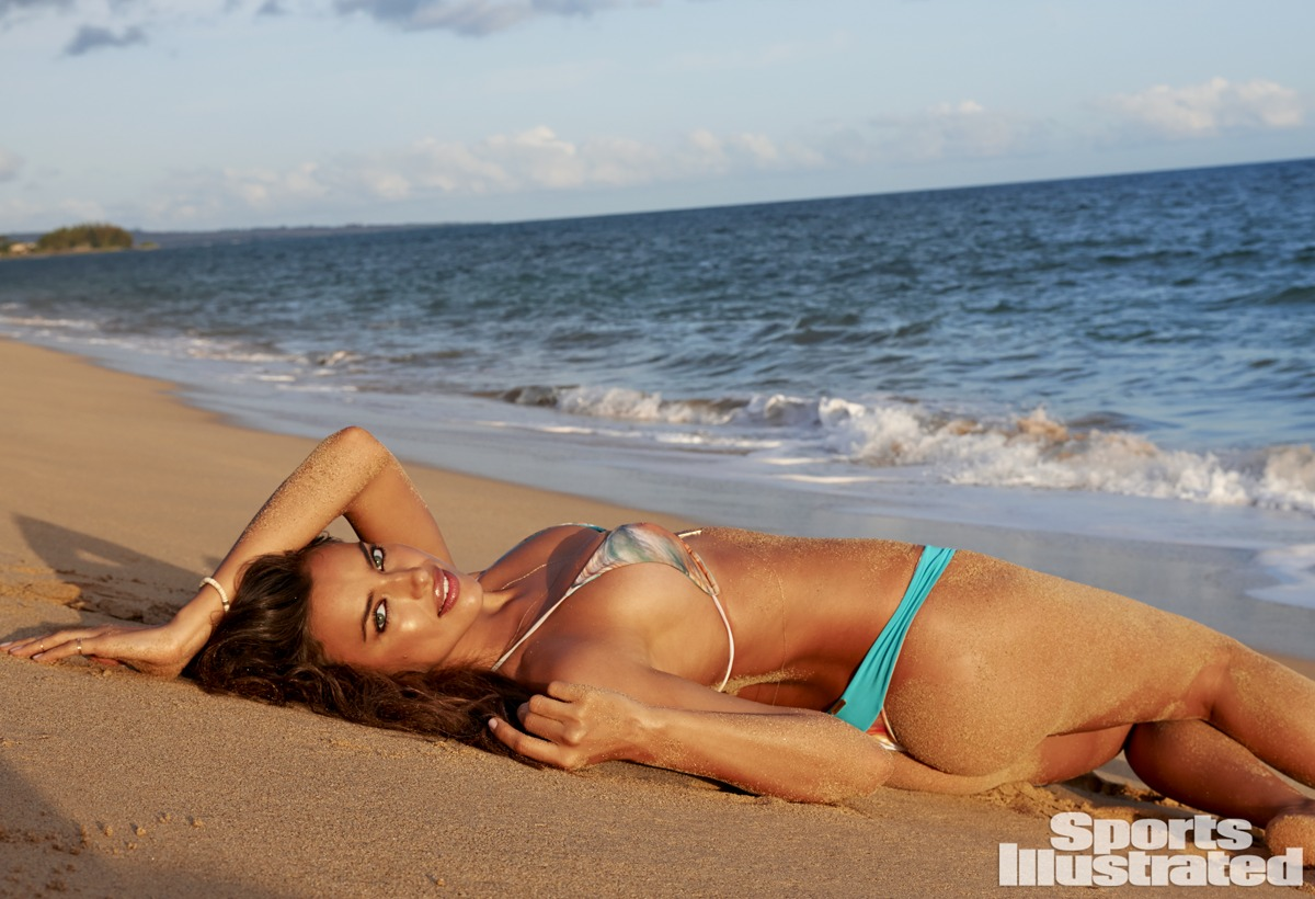 Irina Shayk was photographed by Yu Tsai in Kauai.