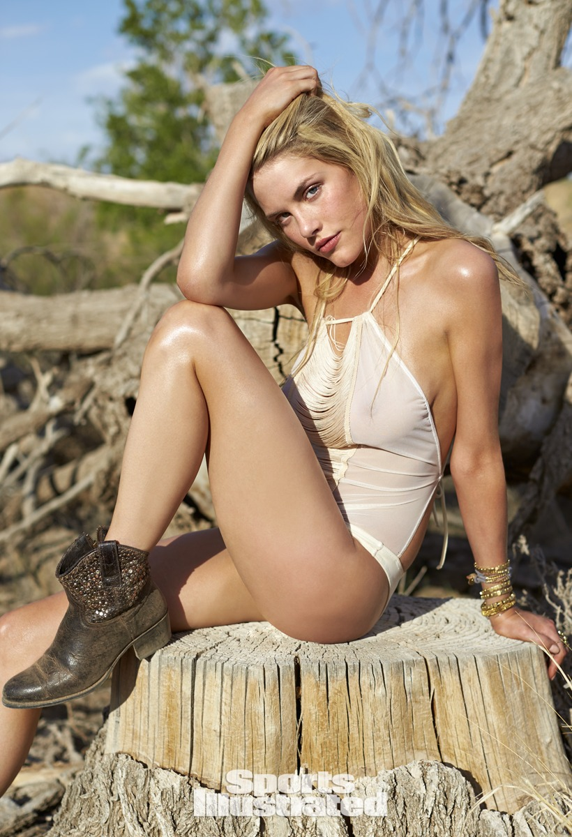 Ashley Smith was photographed by Ben Morris on U.S. Route 66.