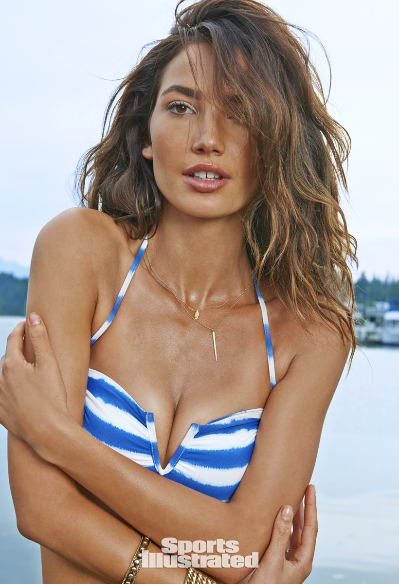 Lily Aldridge was photographed by Yu Tsai in Washington.
