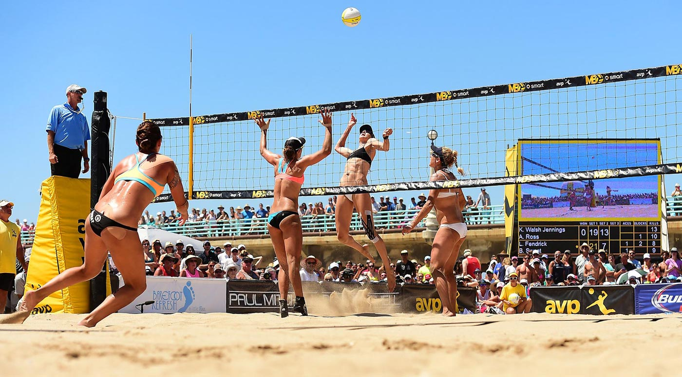 Kerri Walsh Jennings had 94 kills for the weekend.