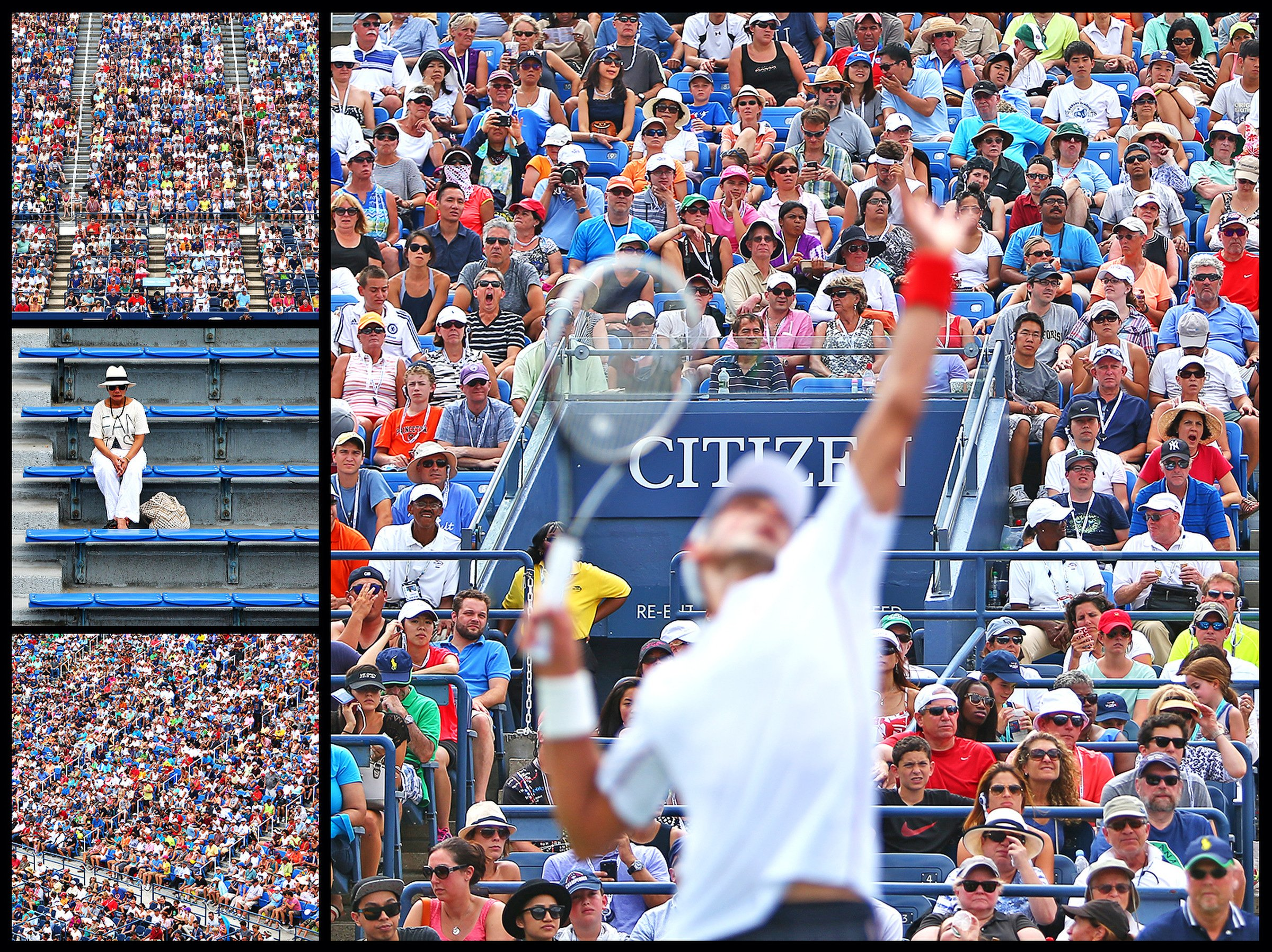 Number of fans who attended the 2009 U.S. Open, an alltime tournament record. The 2013 tournament was represented by a fan from each of the 50 states.