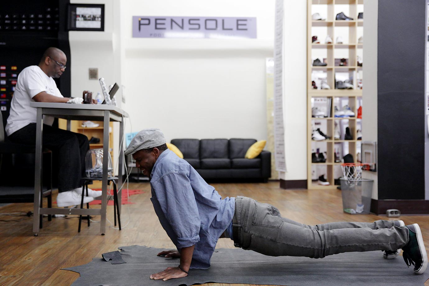 Tardiness is unacceptable at PENSOLE — and punishable by pushups.