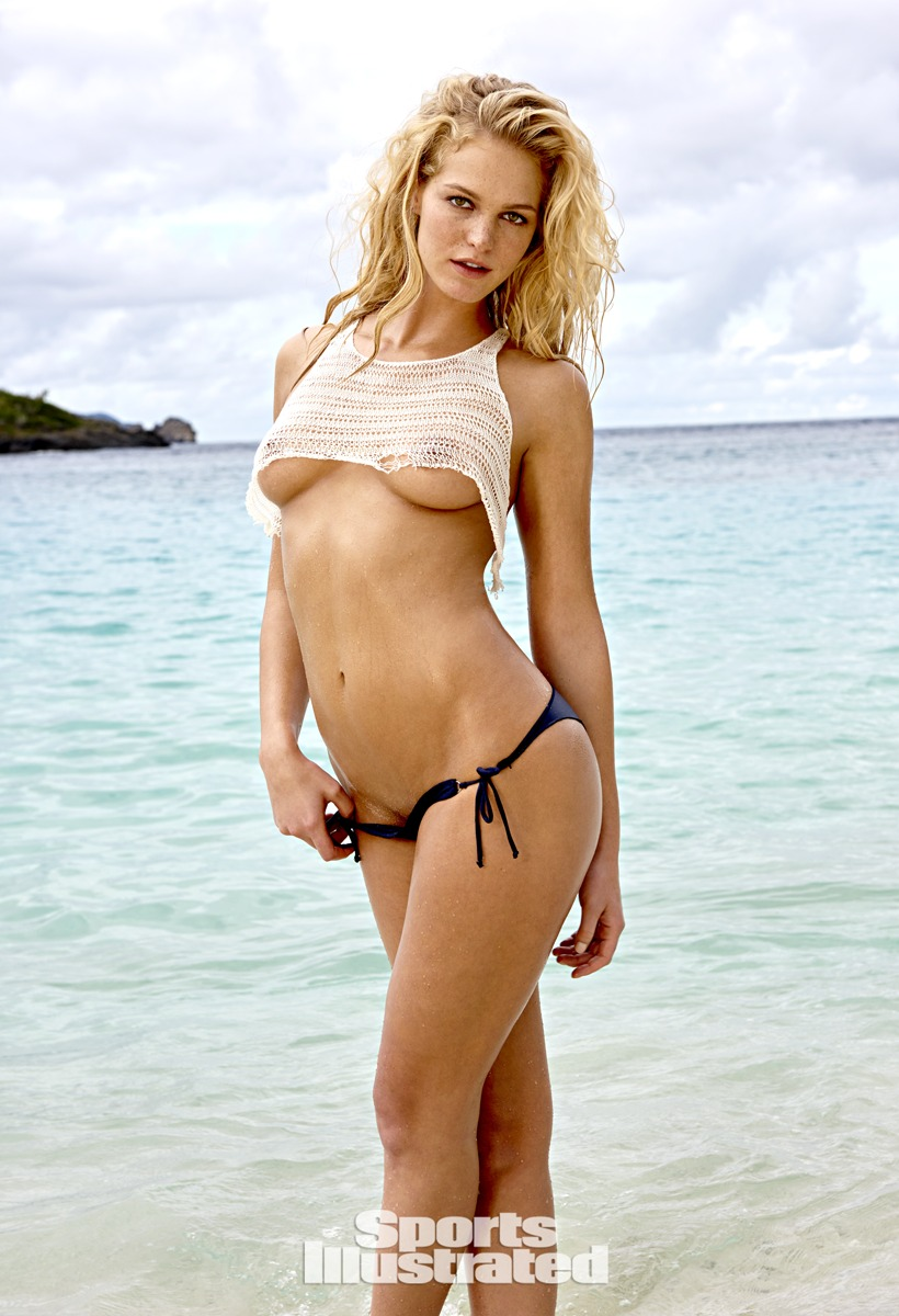 Erin Heatherton was photographed by Yu Tsai in St. John, US Virgin ...