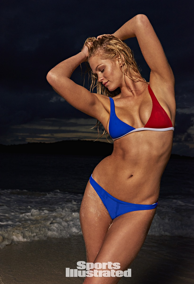 Erin Heatherton was photographed by Yu Tsai in St. John, US Virgin Islands.