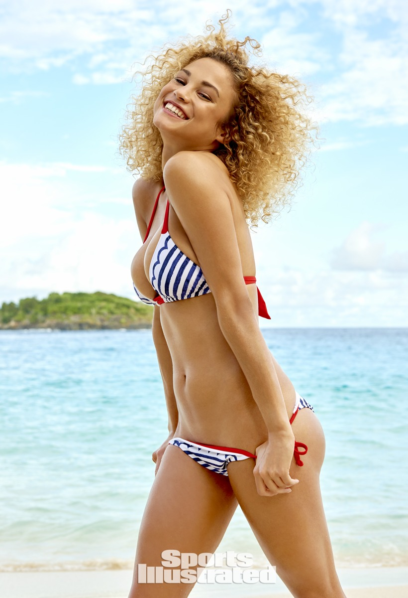 Rose Bertram was photographed by Yu Tsai in St. John, US Virgin Islands.