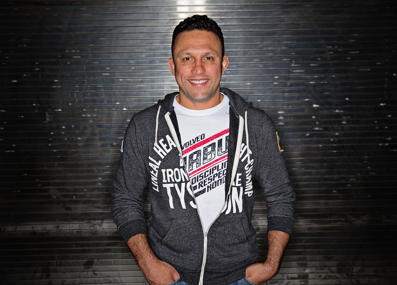 Renzo Gracie poses before his Metamoris 5 Grappling match against Kazushi Sakuraba