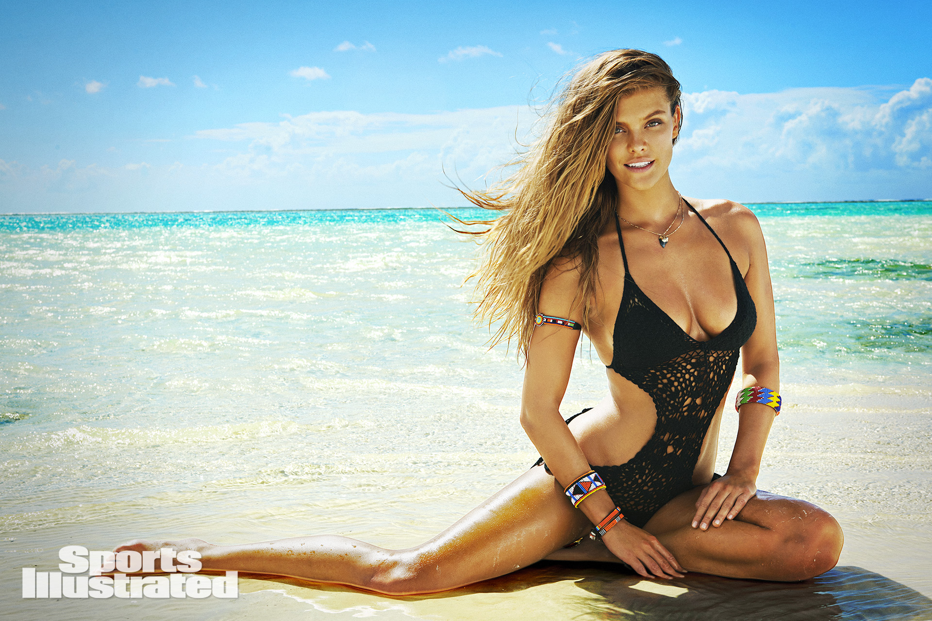 Caroline Wozniacki featuered in body paint in SI Swimsuit 2016 | SI ...
