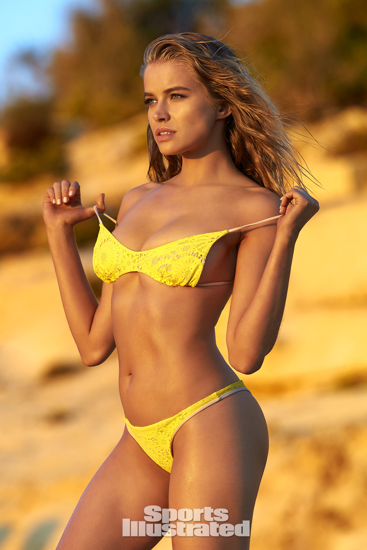 Tanya Mityushina was photographed by Ben Watts in Malta. Swimsuit by Lolli Swim.