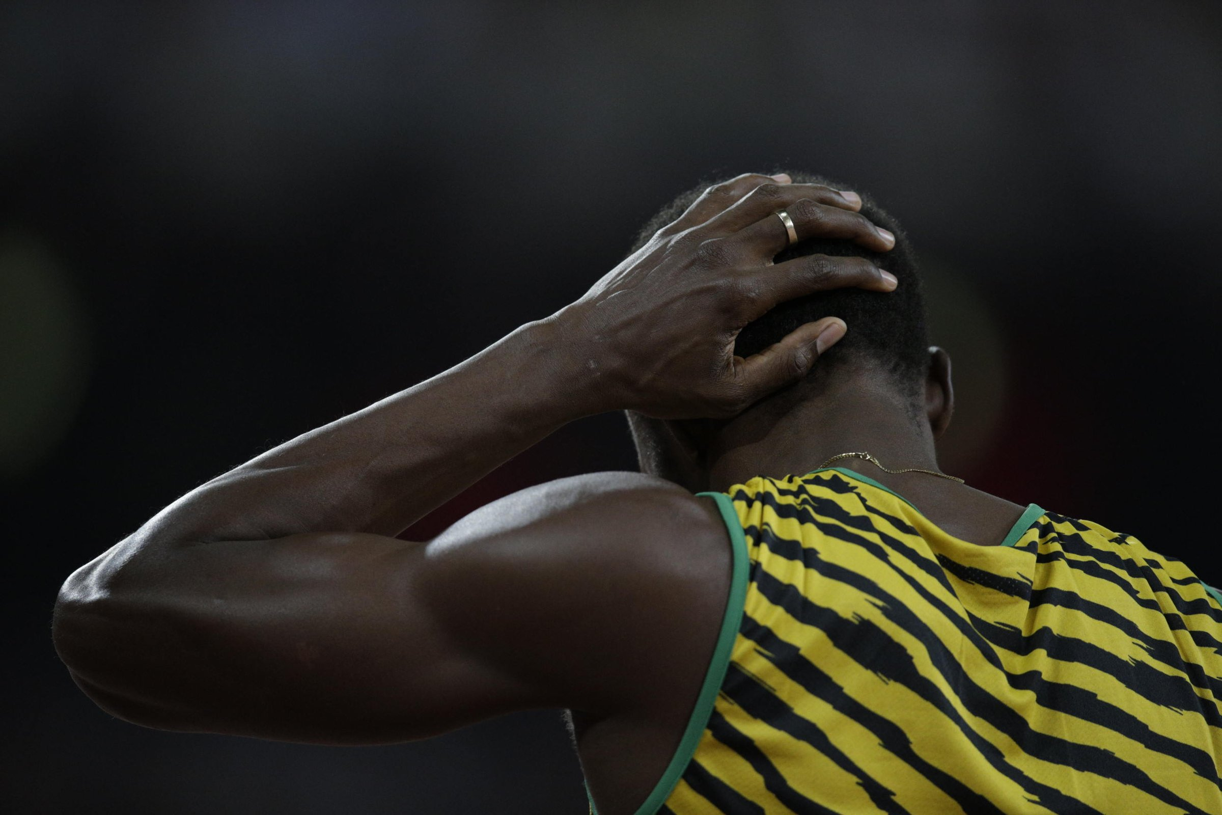 Another round was no sweat for Usain Bolt (JAM) in the 200-meter run.