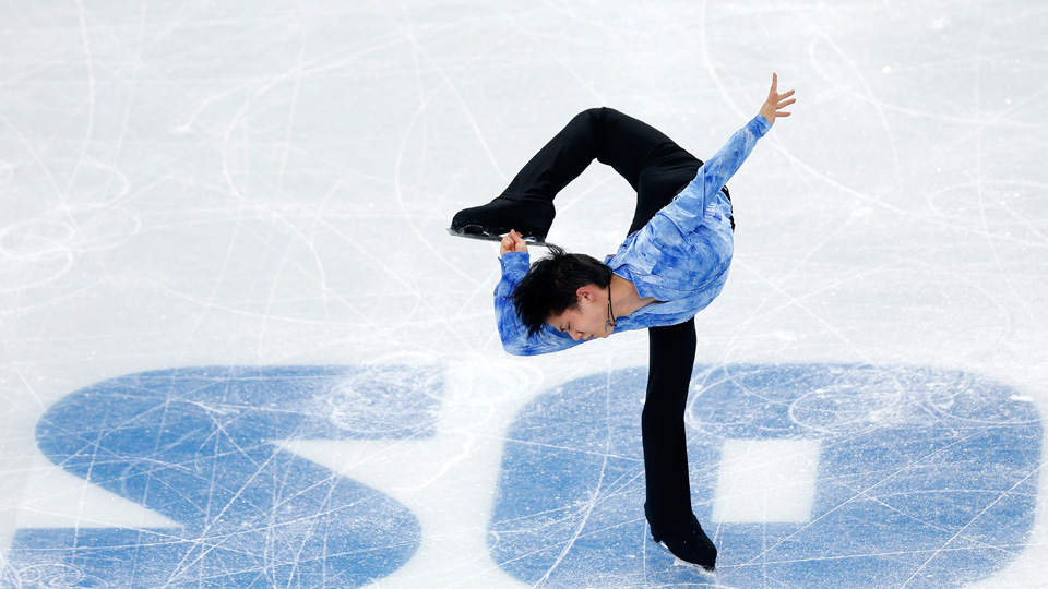 Yazuru Hanyu, only 19, gave Japan the lead in team figure skating.