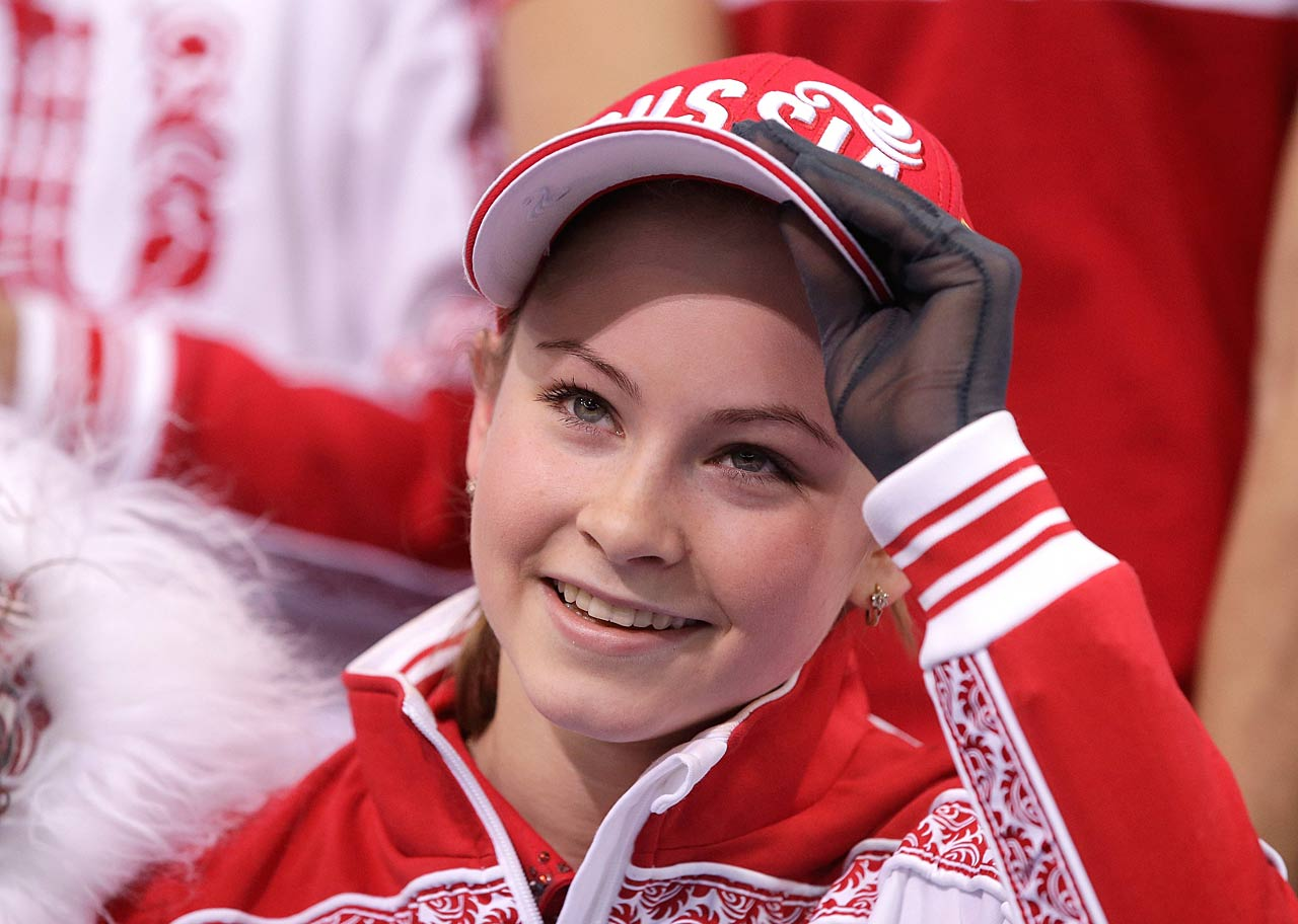 Yulia Lipnitskaya was one of the fresh, new stars on Sunday, wowing the judges in the Team Ladies Free Skating.