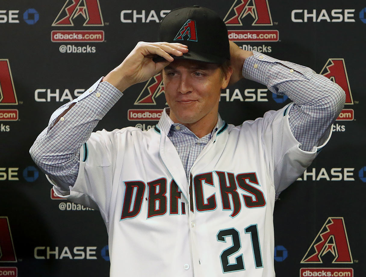 The Arizona Diamondbacks outbid the division rival Los Angeles Dodgers and San Francisco Giants for Zack Greinke, signing the three-time All-Star and 2009 AL Cy Young award winner on Dec. 4, 2015. Greinke had signed a six-year, $147 million contract with the Dodgers in 2013 but was able to opt out after three years. Greinke, 32, was a Cy Young award runner-up in 2015, leading baseball with a career-best 1.66 ERA and 0.84 WHIP to go with a 19–3 record and 200 strikeouts in 222 2/3 innings.