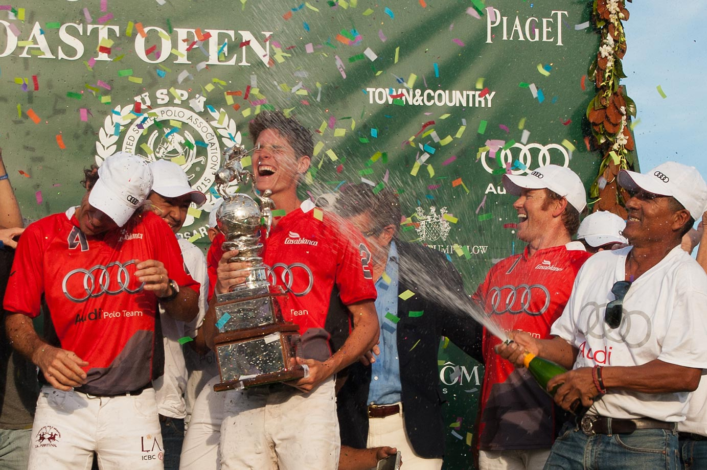 Team Audi celebrates winning the 2015 East Coast Open Finals and the Perry Cup.